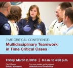 Time Critical Conference Flyer